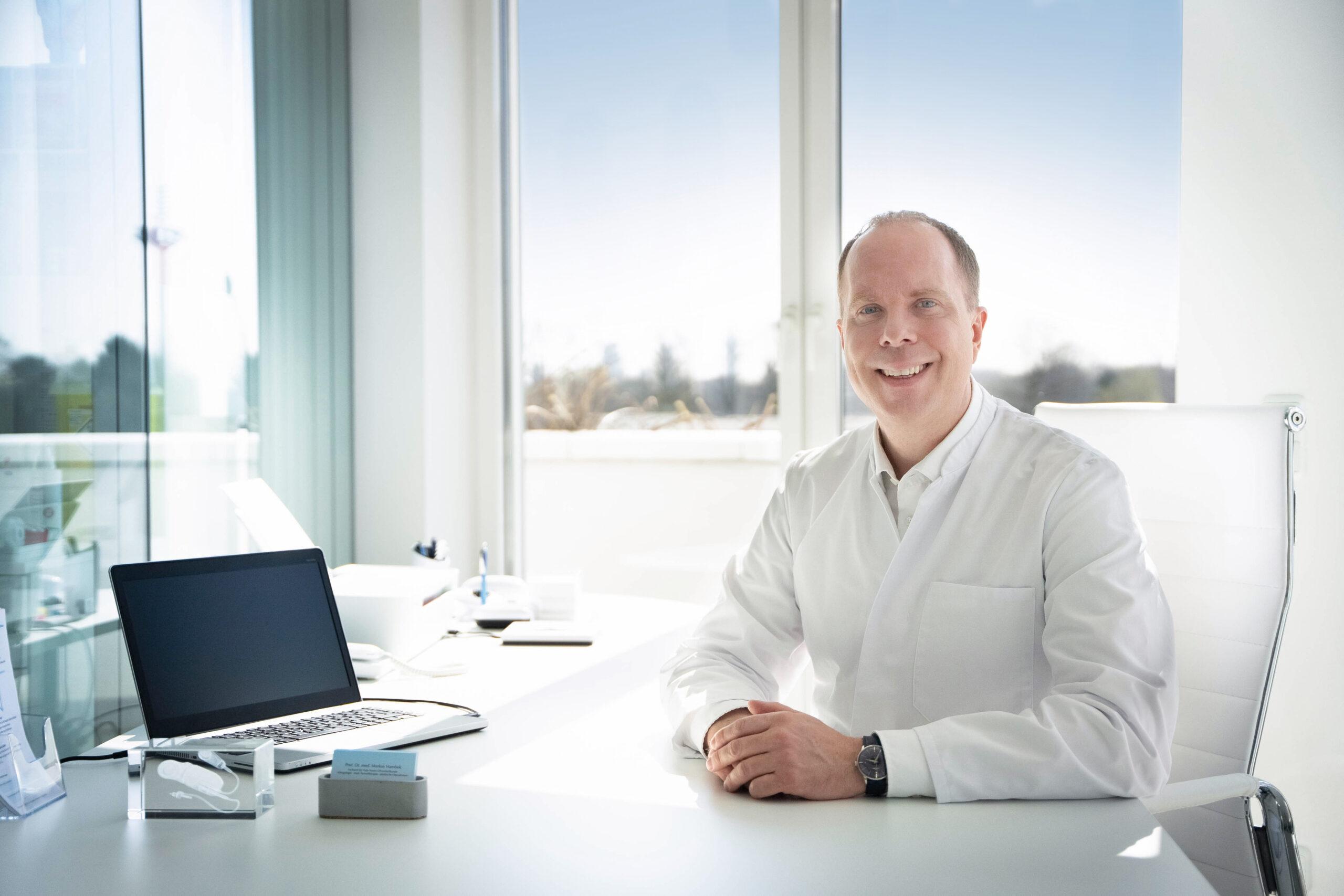 Prof. Dr. med. Markus Hambek - Facharzt für Hals-Nasen-Ohrenheilkunde, Allergologie, med. Tumortherapie und plastische Operationen